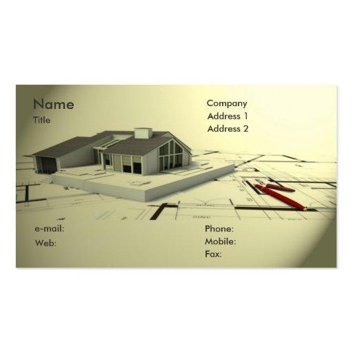architect business card zazzle