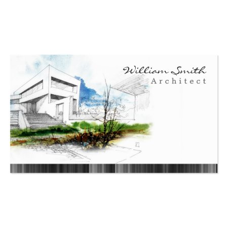 Architectural Drawing Architect Business Cards