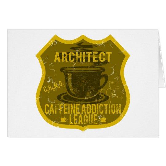 Architect Caffeine Addiction League Card