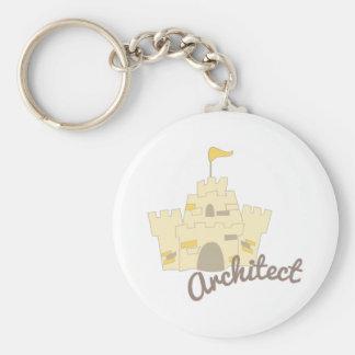 Architect Castle Keychain
