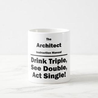 architect coffee mug