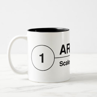 Architect Drawing Tag Mug