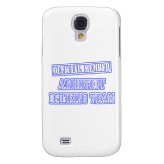 Architect Drinking Team Galaxy S4 Cases