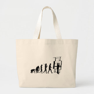 Architect Evolution of Architecture Draftsman Large Tote Bag