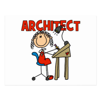 Architect Gift Postcard