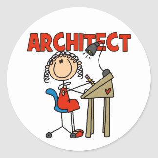 Architect Gift Stickers
