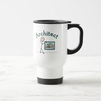 Architect Gifts--Stick Person Design Travel Mug