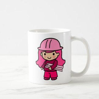 Architect Girl Classic White Coffee Mug