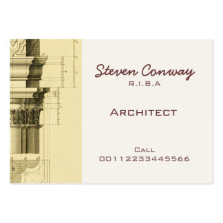 Architect ~ Gothic Architecture Design Large Business Cards (Pack Of 100)