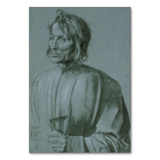 Architect Hieronymus von Augsburg by Durer Card