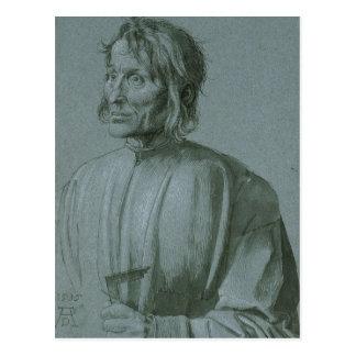 Architect Hieronymus von Augsburg by Durer Postcard