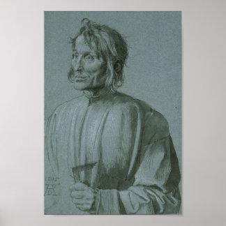 Architect Hieronymus von Augsburg by Durer Poster