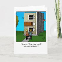 Architect Humor Greeting Card
