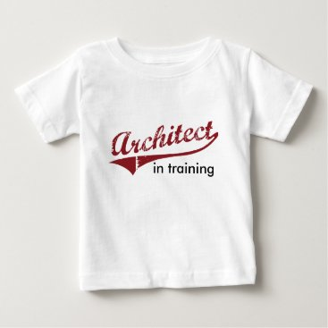 Architect in Training Baby T-Shirt