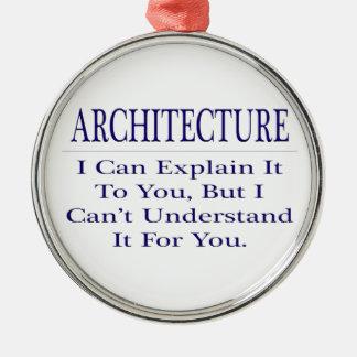 Architect Joke .. Explain Not Understand Christmas Tree Ornaments