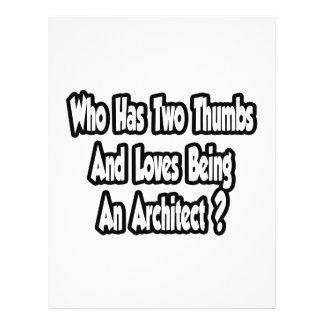 Architect Joke...Two Thumbs Flyer