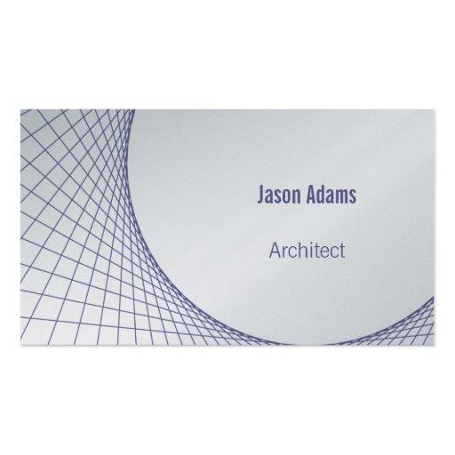 Architect | Modern Business Card