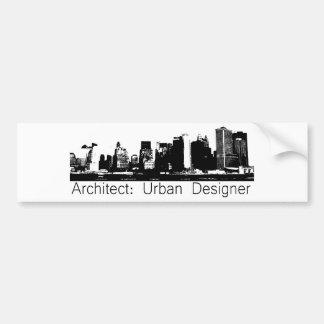 Architect original gifts! bumper sticker
