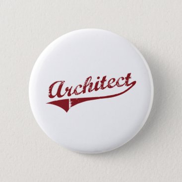 Architect Pinback Button