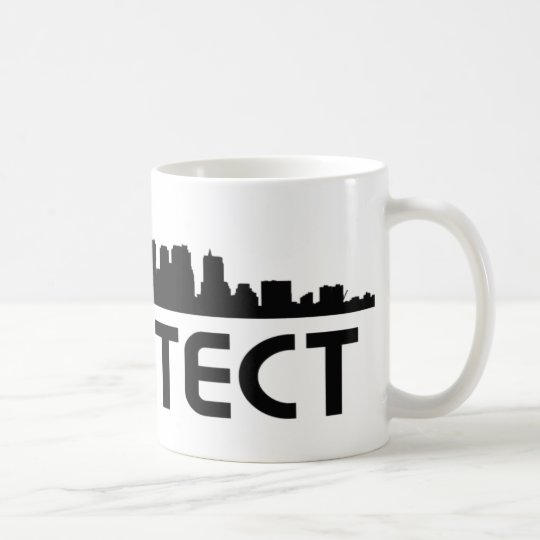 Architect Skyline design! Coffee Mug
