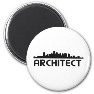 Architect Skyline design! Magnet