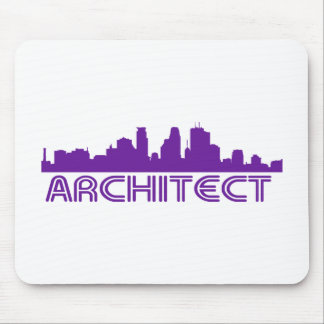 Architect Skyline design! Mouse Pad