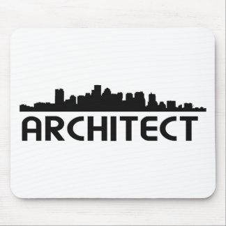 Architect Skyline design Mouse Pads