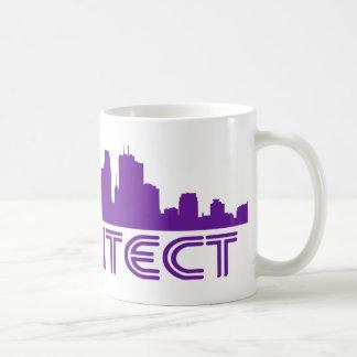 Architect Skyline design Coffee Mugs