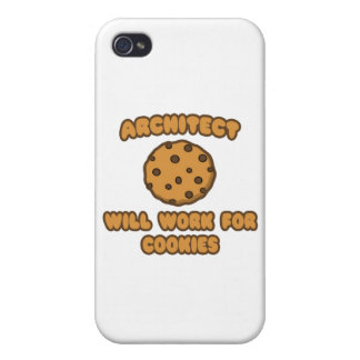 Architect .. Will Work for Cookies iPhone 4/4S Case