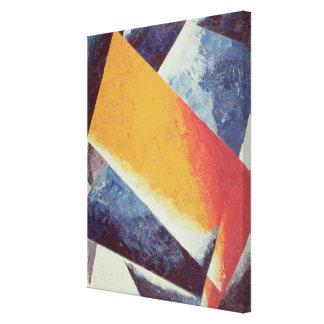 Architectonic Composition Canvas Print