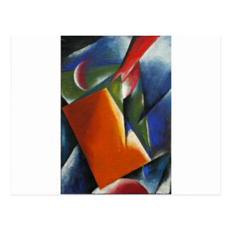 Architectonic Painting by Lyubov Popova Postcard