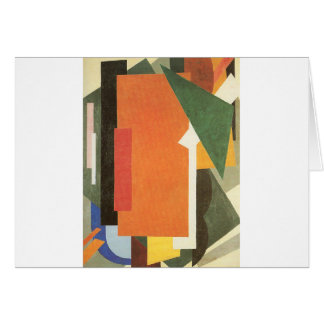 Architectonics in Painting by Lyubov Popova Card