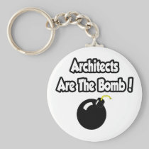 Architects Are The Bomb! Key Chain