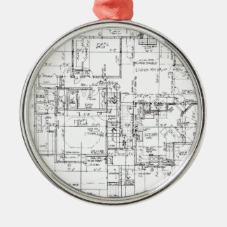 Architects Everything! Metal Ornament