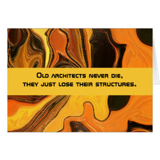 architects humor greeting card