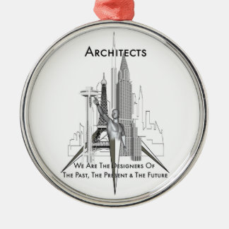 Architects Metal Ornament