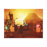 Architects Of Civilization - Wrapped Canvas Print