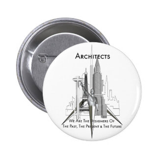 Architects Pinback Button