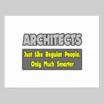 Architects...Smarter Post Card