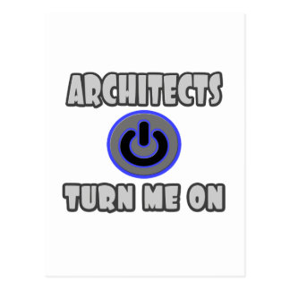 Architects Turn Me On Post Card