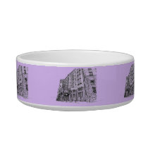 Architectture in lilac bowl