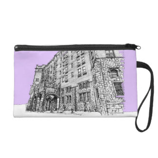 Architectture in lilac wristlets