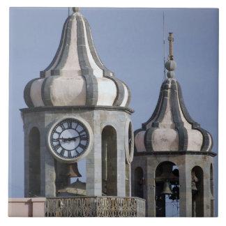 Architectue del Moorish de La Orotava Tenerife Tejas