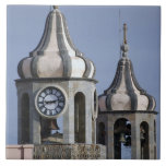 Architectue del Moorish de La Orotava, Tenerife Azulejo Cuadrado Grande