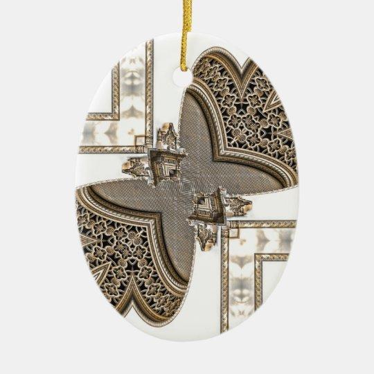Architectural Anomoly Geometric Ceramic Ornament