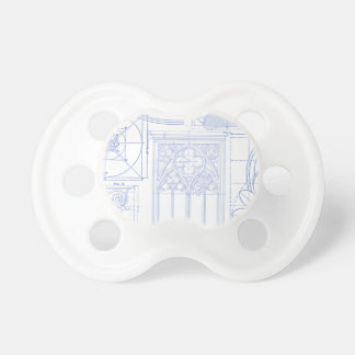 Architectural Blueprints Pacifier