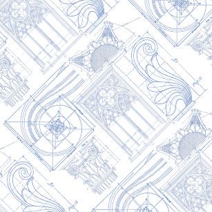 Blueprint wrapping paper zazzle architectural blueprints wrapping paper malvernweather Image collections