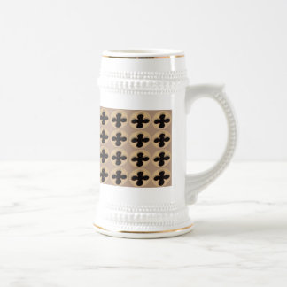 Architectural Building Cutout Beer Stein