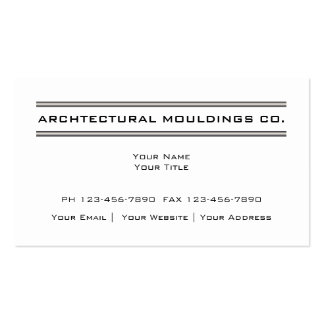 Architectural Business Cards