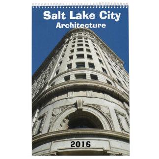 Architectural Calendar of Salt Lake City - 2016